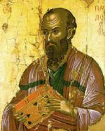 Св. ап. Павел, икона от XVI век, Stavronikita Monastery, www.culture.gr