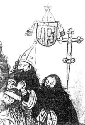 Григорий Цамблак по време на Констанския събор, архив на пражкия Карлов университет