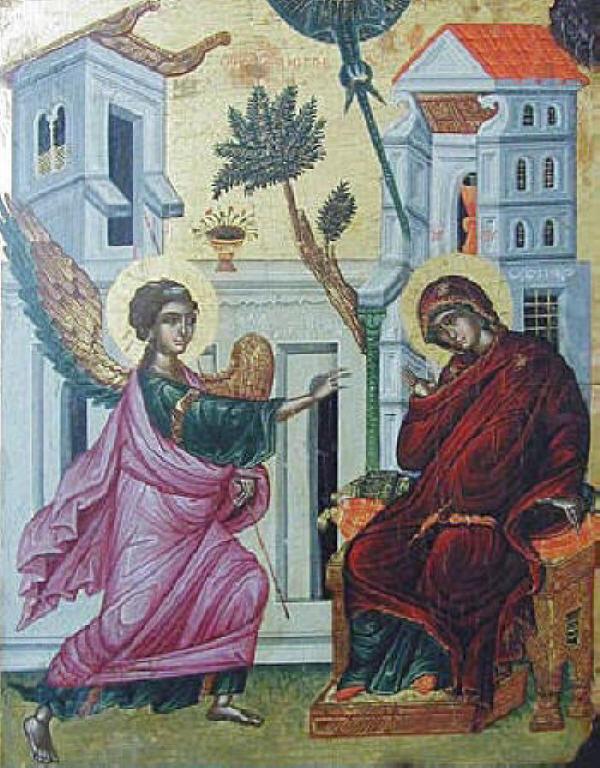 03.25_blagovestenie_nesebar_16v Всемирното Православие - Празници, включени в Българския Православен Църковен Календар