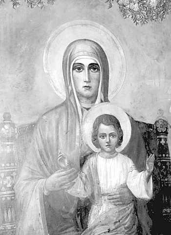 Иконата на Божията майка в Пазарджик. Снимка: Милена Николова