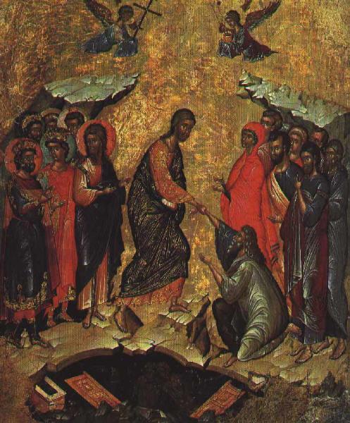Слизане в ада, Втората четвърт на 15 век, Государственный Эрмитаж, Санкт-Петербург