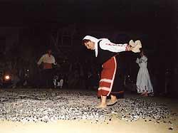 Архивни снимки от нестинарските игри в село Българи. Снимка © Мирослав Златев