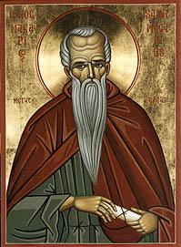Резултат с изображение за Св. преподобни Макарий Велики, Египетски