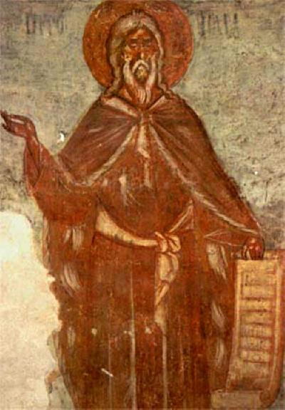 Св. пророк Мойсей. Източник: ikona.ru