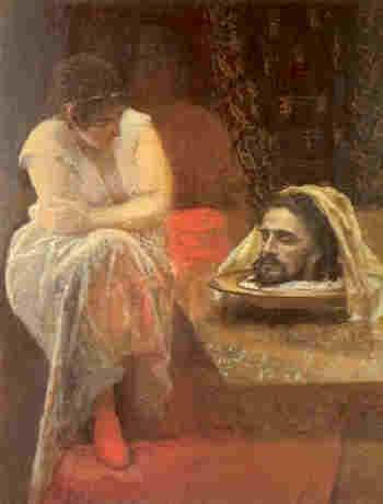 Резултат с изображение за Oтсичане главата на Светия Предтеча и Кръстител Господен Йоан