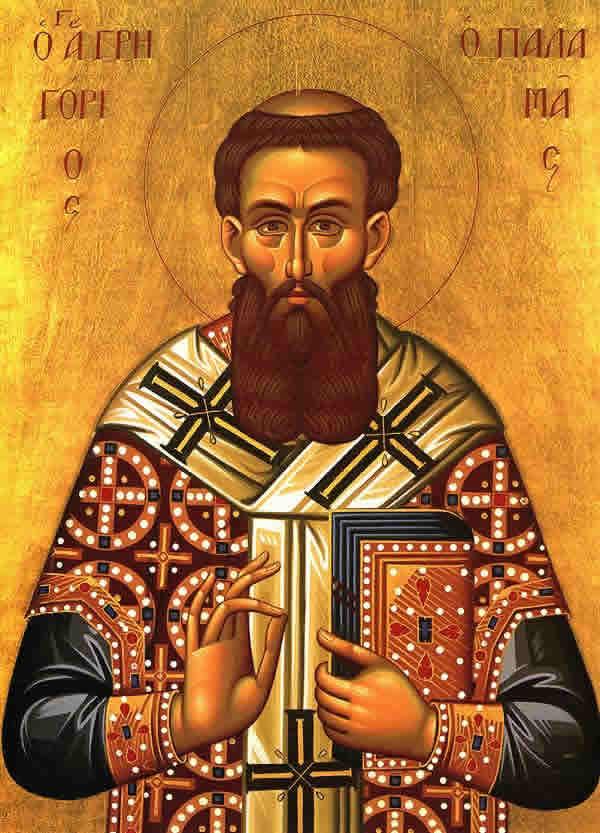 Св. Григорий Палама, гръцка икона. Източник: oca.org