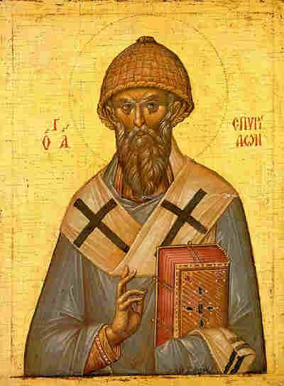 Спиридон Тримифунтский, икона, icon, Spyridon of Trimythus, Saint Spiridon of Trimythus. Источник: spyridon-trimifuntsky.narod.ru