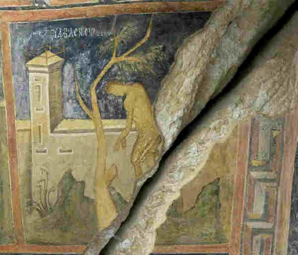 Фрески ивановский скальный монастырь