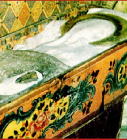 Раклата с мощите на Св. Иван Рилски в Рилския манастир