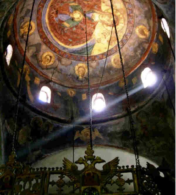 """Полилей в църквата на манастира """"Седемте престола"""""""