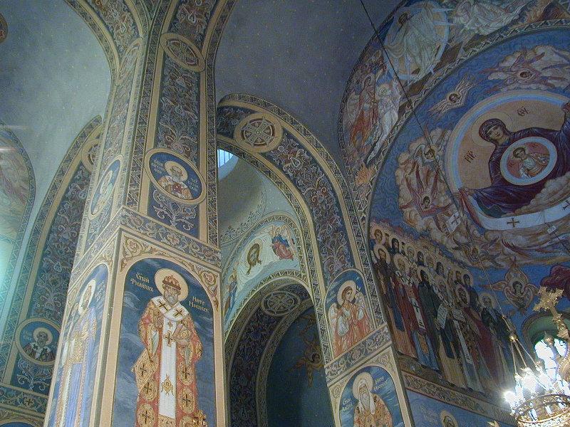 Стенописи от шипченския манастир