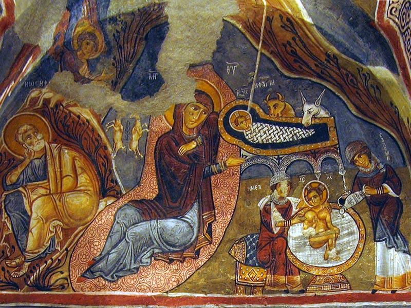 Рождество Христово - икони и стенописи: www.pravoslavieto.com/ikonopis/Gospodski/RH/icons.htm