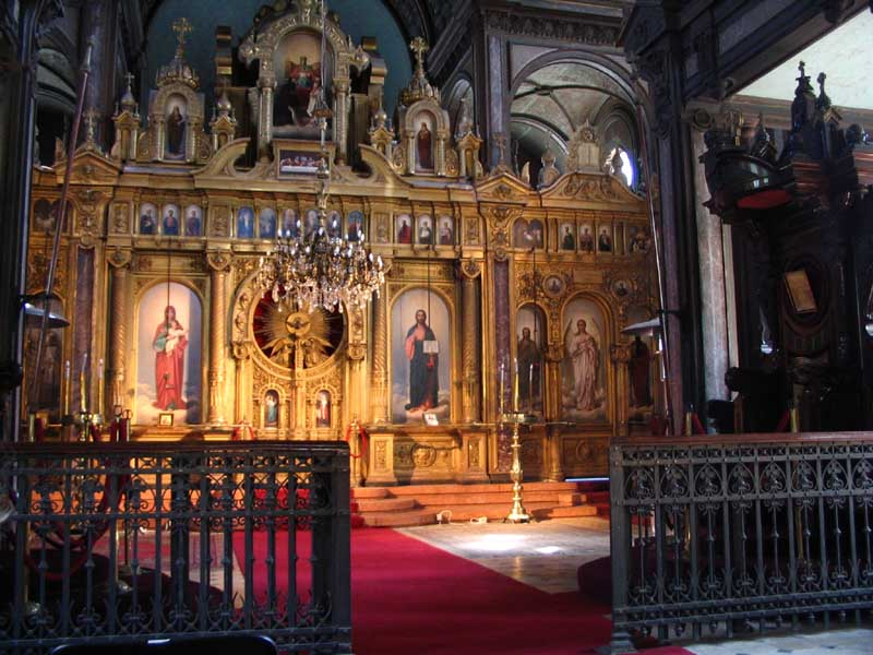 Желязната църква, иконостасът