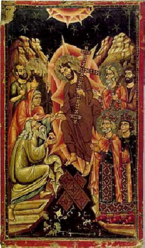 Слизане в Ада. Икона от 12 в., манастира св. Катерина в Синай. Източник: all.photo.ru