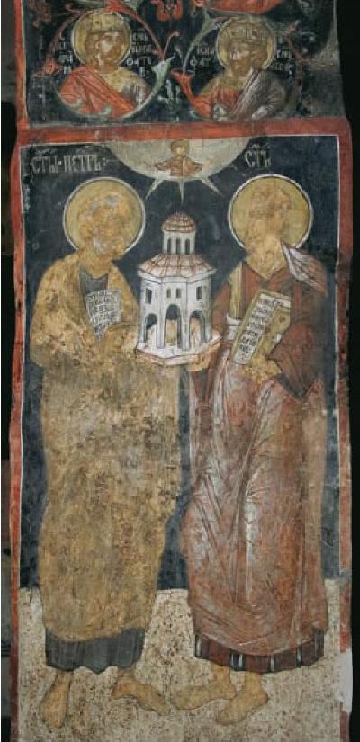 Патроните на църквата св. ап. Петър и Павел, фото Иво Хаджимишев