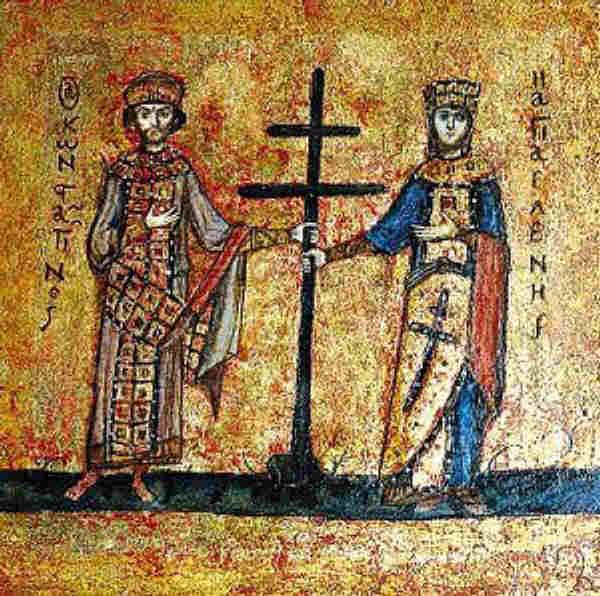 Святые Константин и Елена